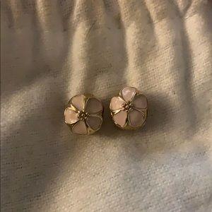 14k gold pandora cherry blossom clips charms